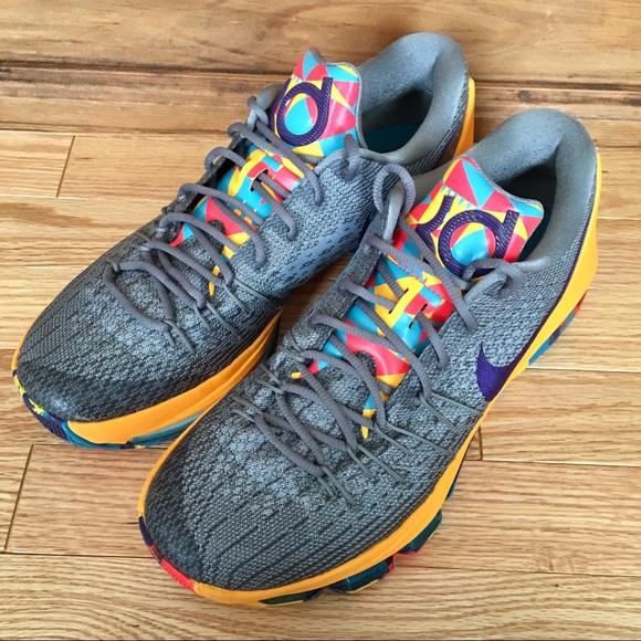 low priced 8b217 f186e Nike KD 8 PG County Basketball Shoe Men s. M 5ae0aae2077b9794f78b0605